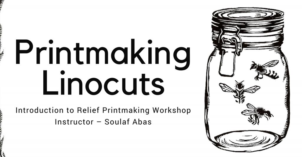 Printmaking Linocuts Workshop